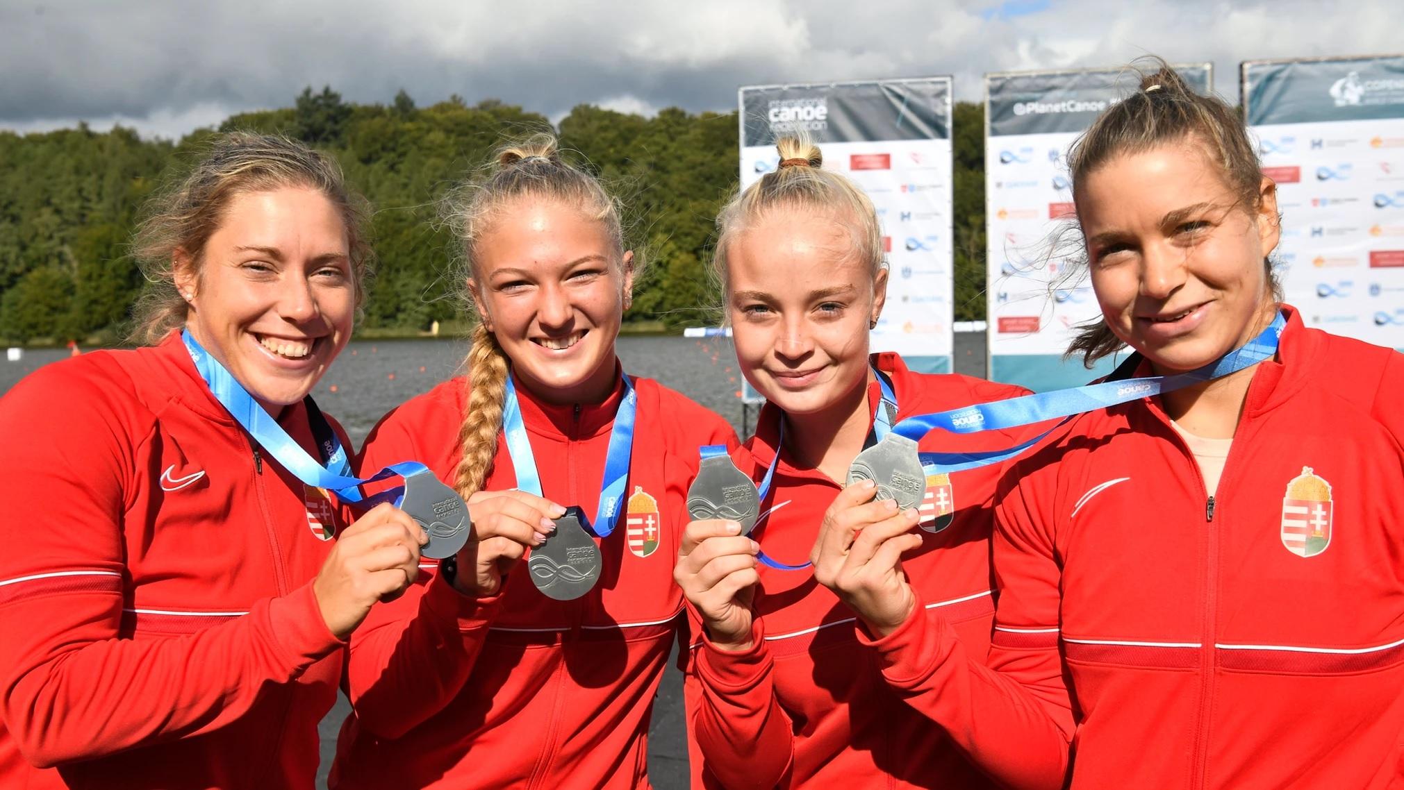Ezüstérmet szerzett a Széchenyi István Egyetem két hallgatója a kajak-kenu-világbajnokságon