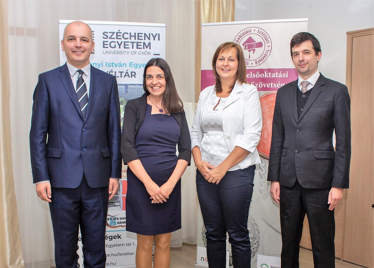 Legújabb csatlakozóként a Széchenyi István Egyetem adott otthont a levéltári vándorgyűlésnek