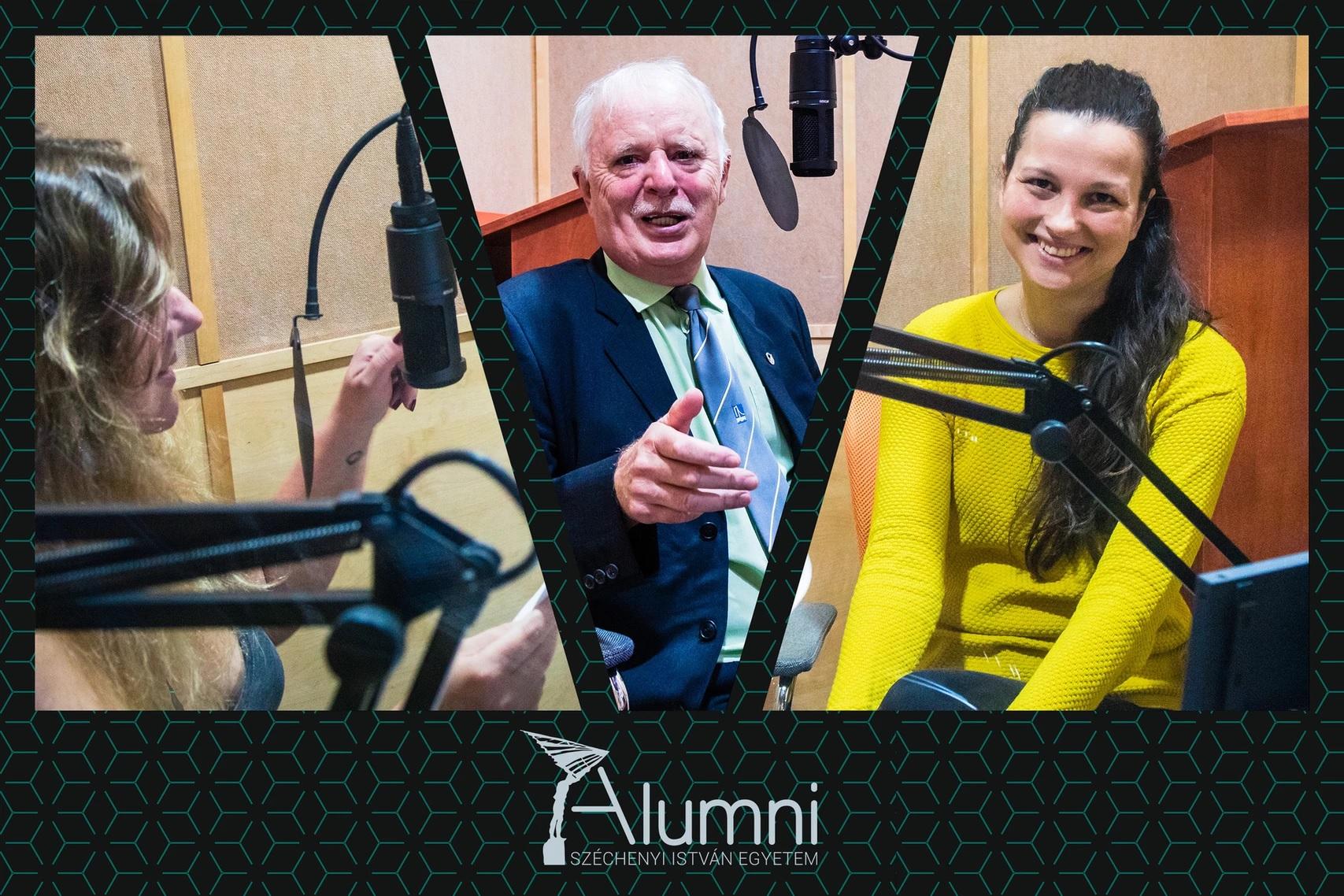 Elindult az Alumni Talk, a Széchenyi-egyetem podcastja